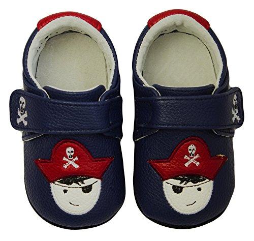 Rose & Chocolat Chaussures Bébé Captain Hook Bleu