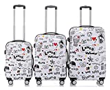 TERMINAL Luggage 3 PCS Suitcase Set 20''+24