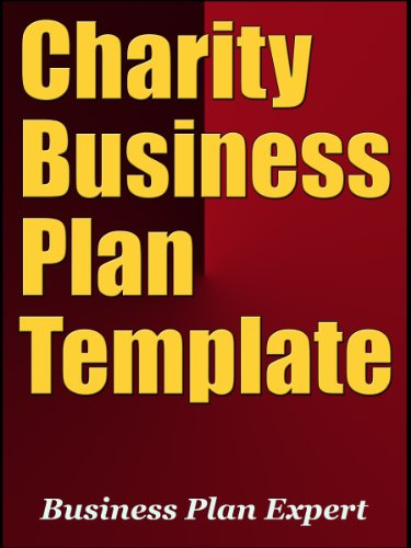 Amazoncom Charity Business Plan Template Including Free - Charity business plan template