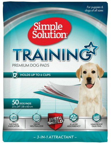 Simple Solution Original Puppy Training Pads 50pk (Simple Solution Economy Puppy Training Pads)