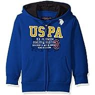 U.S. Polo Assn. Boys' Fleece Hooded Jacket