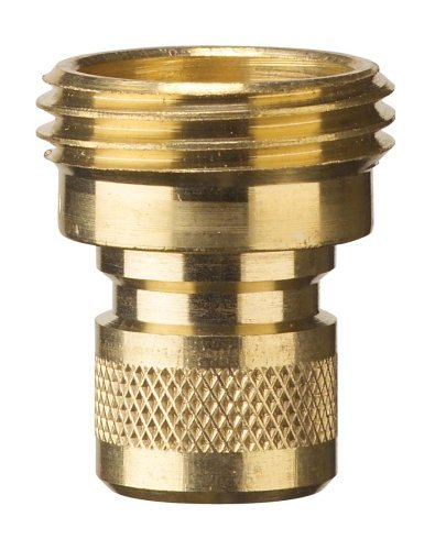Nelson 5 Pack (10 Total Connectors) 50335 Brass Hose Quick Connectors, Male - 2 Pack by Nelson