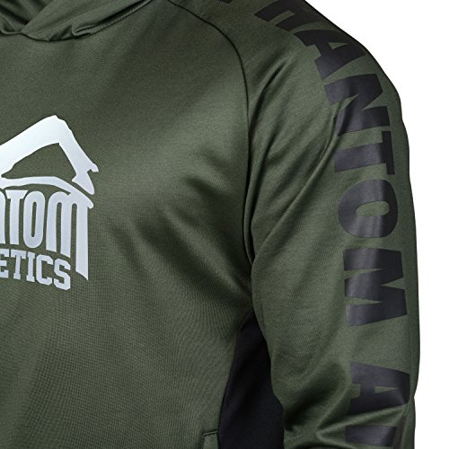 "Phantom Athletics Hoodie ""Stealth"" - Green"