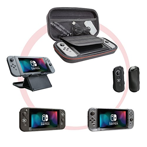 (CTA Digital Travel Essentials Bundle - Nintendo Switch)