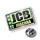Pin Airportcode JCB Joacaba - Lapel Badge - NEONBLOND