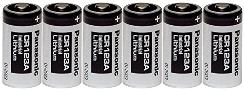 Panasonic Industrial CR123A Lithium