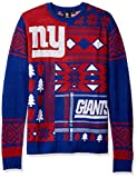 New York Giants Patches Ugly Crew Neck Sweater Large