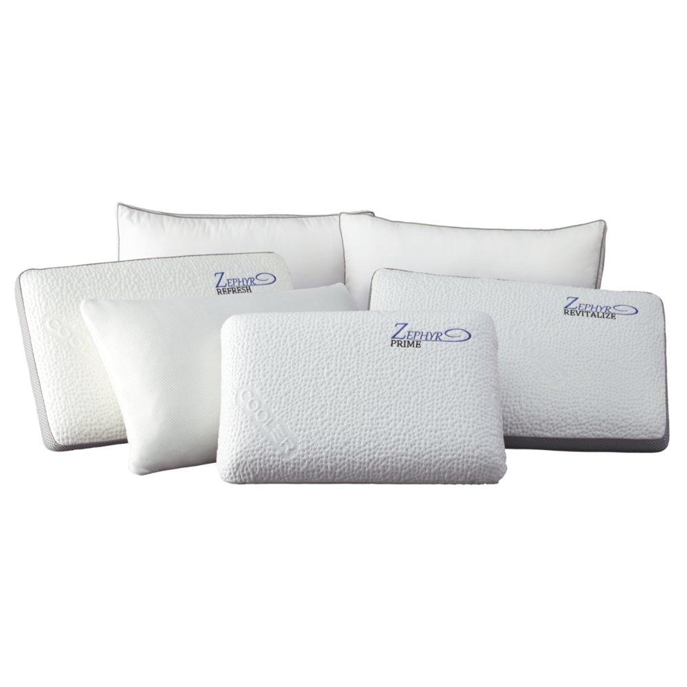 署名デザインby Ashley m82510 Promotionalベッド枕、ホワイト B06XGJTN1Z