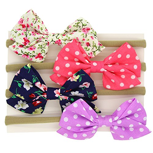 Baby-Headbands-Girl-Newest-Turbans-Head-Wrap-Knotted-Hair-Band