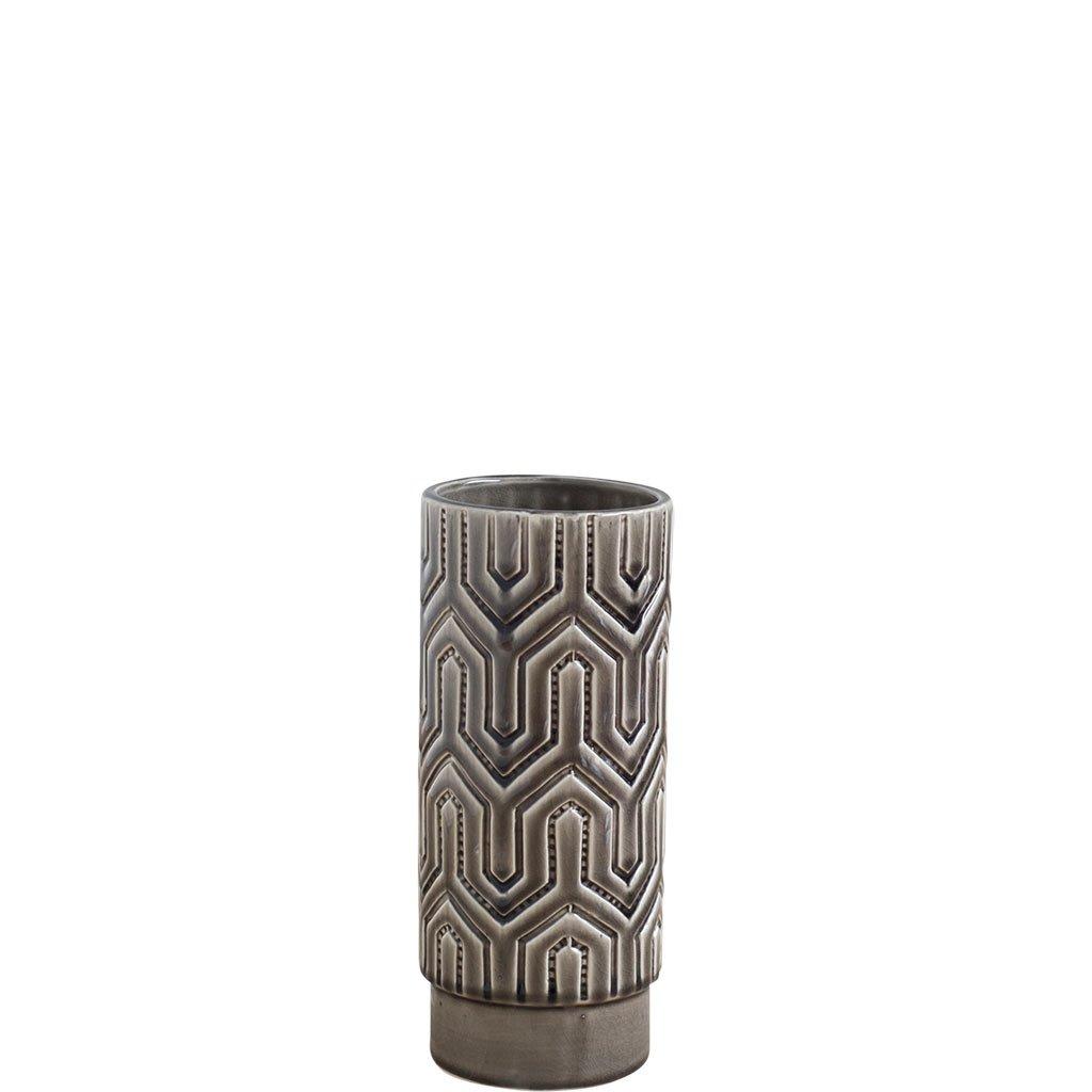 Mercana Art D/écor Dunand Small Vases Brown