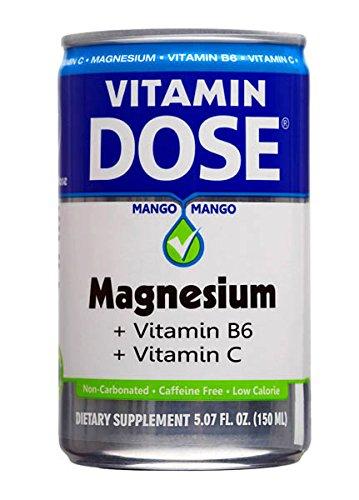 Vitamin Dose -Vita Dose Magnesium in Liquid Form.Delicious Mango Flavor in One Dose