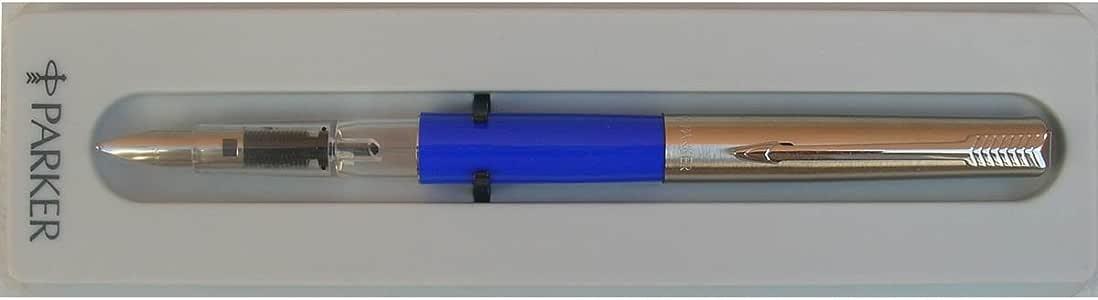Parker 15 Energy Blue Fountain Pen Medium Nib