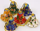 ONE Cloisonne Christmas Bell - In Various Color
