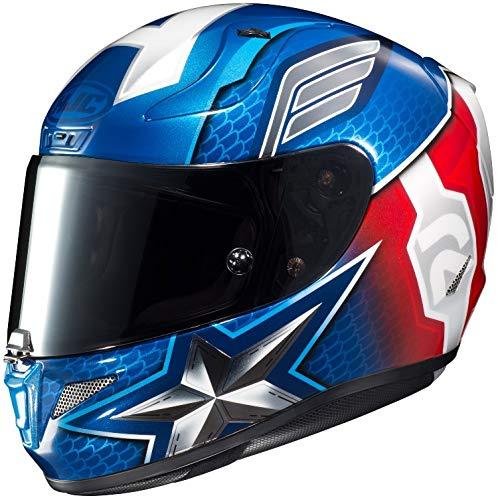 captain america motorcycle helmet - 6