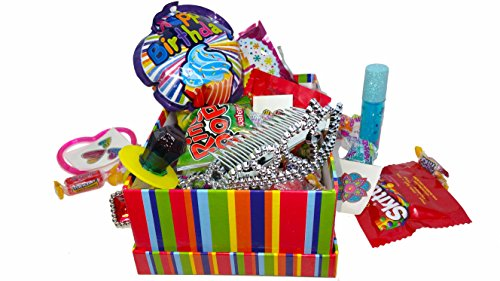 Happy Birthday Princess ~ Decorated Gift Boxes Filled