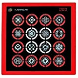 Flash Pad Air Touchscreen Electronic Game with Lights & Sounds - Red