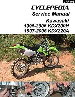 1995 2006 kawasaki kdx200h 1997 2005 kdx220a service manual 6-50 220 wiring diagram kdx 220 wiring diagram #13