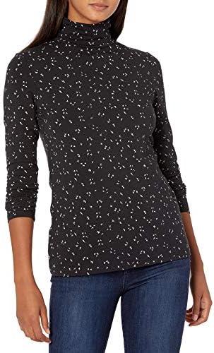 Amazon Essentials Women's Classic-Fit Long-Sleeve Turtleneck Top