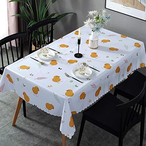 XIAOE Mantel de plastico Limpiar Vinilo PVC Mantel Simple Mesa de Centro Impermeable y a Prueba de Aceite Mesa de Comedor Mesa proteccion del Medio Ambiente Cubierta Mantel Europeo 120 * 170cm