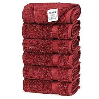 Chakir Turkish Linens Turkish Cotton Luxury Hotel & Spa Bath Towel, Hand Towel - Set of 6, Cranberry (B00SP0BQEQ) | Amazon price tracker / tracking, Amazon price history charts, Amazon price watches, Amazon price drop alerts