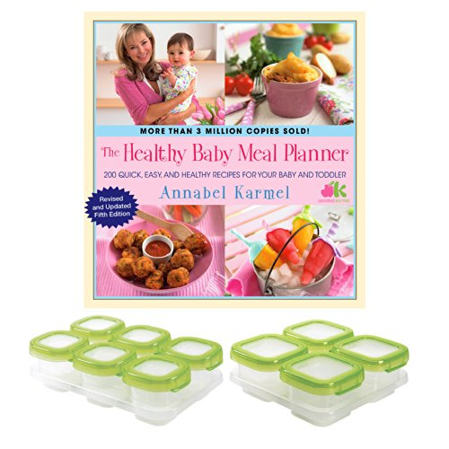 The Healthy Baby Meal Planner Baby & Toddler Recipes with OXO Tot Food Storage Blocks