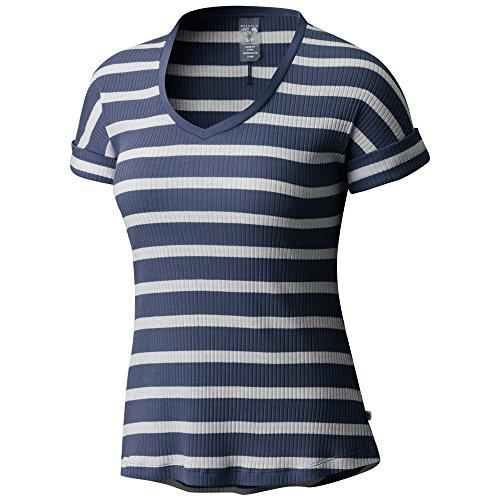 Mountain Hardwear Women's Lookout Short Sleeve T-Shirt, Heather Zinc, ()