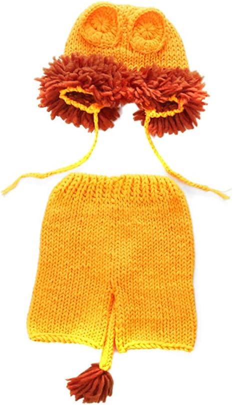 FENICAL bebé recién Nacido Crochet león de Punto Disfraz de ...