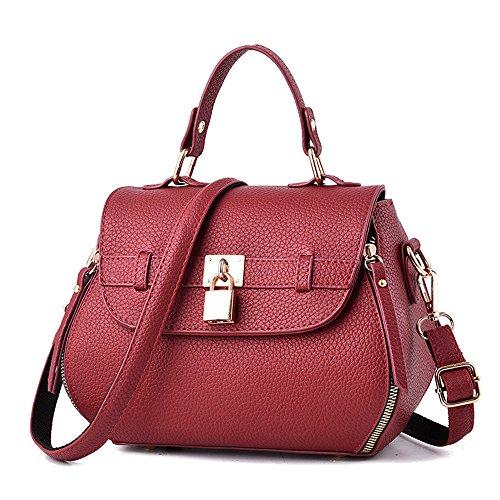 Sac Sac Nouveau Sauvage Rose Femmes Red Meaeo Messenger Carré De Bag Mode Petit 4wpxnTq