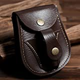 2017 New Leather Case Waist Bag Pouch for Catapult Slingshot Steel Balls Ammo Games