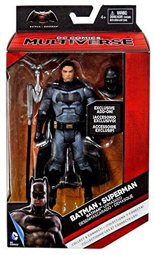 Batman v Superman: Dawn of Justice DC Multiverse Batman (Ben Affleck) Action Figure 6 Inches (Ben Affleck Best Batman)