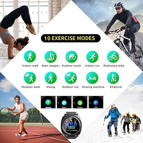 EUMI Smartwatch Reloj Inteligente IP67 con Pulsómetro Presión ...