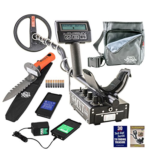 Whites MXT All Pro Metal Detector Diggers Special w/ DigMaster & Utility Pouch by White's Electronics