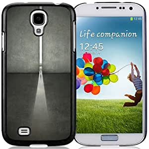 Beautiful Unique Designed Samsung Galaxy S4 I9500 i337 M919 i545 r970 l720 Phone Case With Maze Runner Open Wall_Black Phone Case