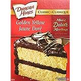 Duncan Hines Classic Cake Mix, Yellow, 432g