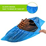 Fuxury Shoe Covers Disposable 200 Pack