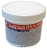 MG Chemicals 63/37 No Clean, Leaded Solder Paste, 500 g Tub