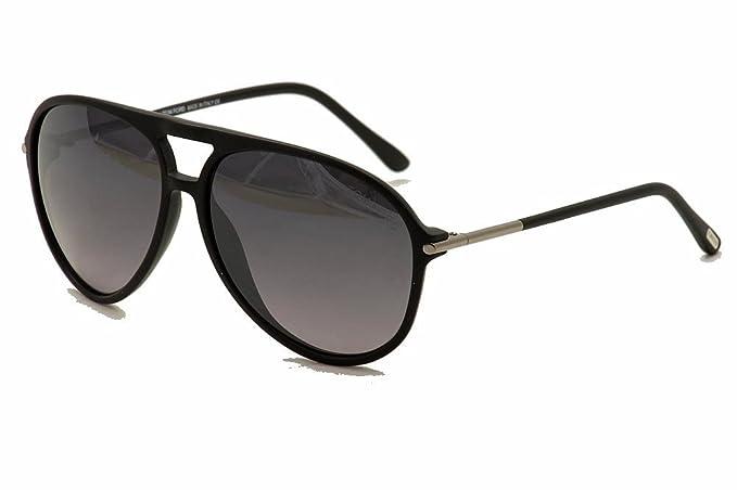 Tom Ford Gafas de sol Para Hombre 0254 Matteo - 01B: Negro brillante