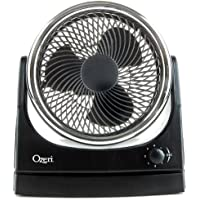 Ozeri Brezza Oscillating 10 High Velocity Desk Fan
