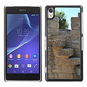 Hot Style Cell Phone PC Hard Case Cover // M00310490 Mountain Sos Of The Catholic King // Sony Xepria Z2 L50W