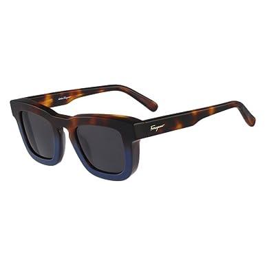 c8f4cd401c Image Unavailable. Image not available for. Colour  Salvatore Ferragamo  SF771S-235 Mens SF771S Havana Blue Sunglasses