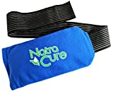 NatraCure Universal Cold Pack Ice Wrap - 1 Ice Pack w/ 1 Sleeve - (5' x 10' Pouch with 24' Nylon Belt Strap &...