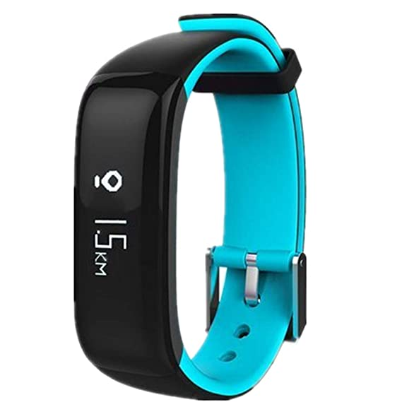 Pulsera Inteligente,P1,Fitness Tracker con Pulsómetros,Cronómetro ...