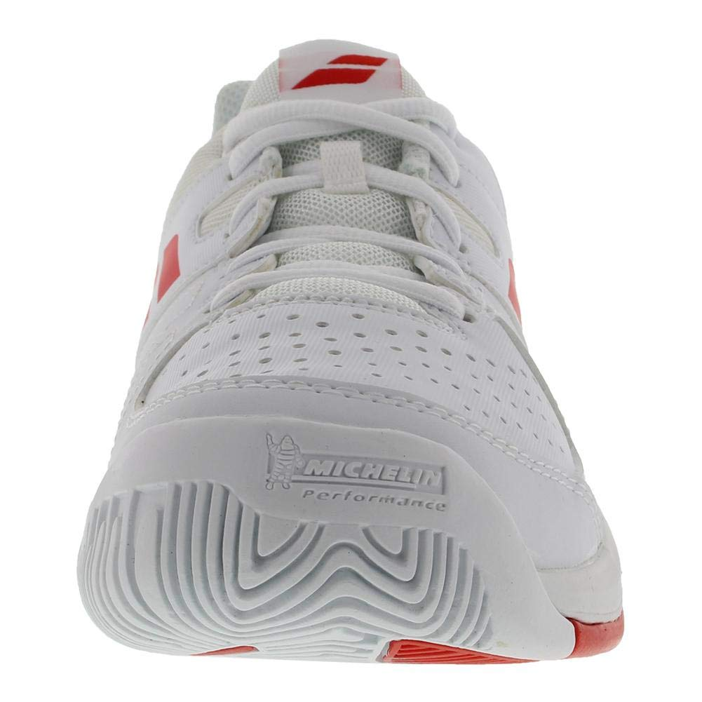 Babolat Pulsion AC Juniors Tennis Shoes White//Red