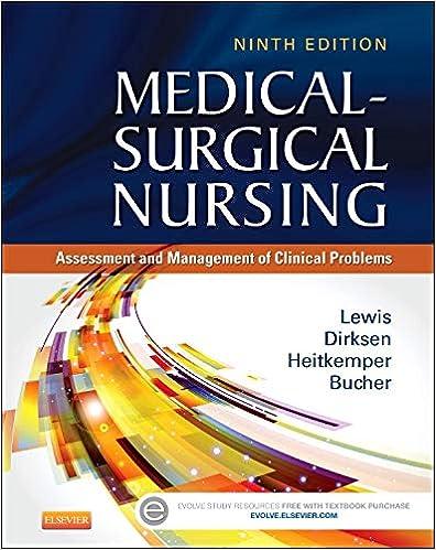 Medical Surgical Nursing Assessment And Management Of