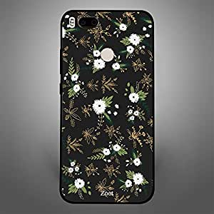 Xiaomi MI A1 Black White Flowers