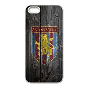 iphone5 5s Case (TPU),iphone5 5s Cell phone case White for astonvilla - KKHG5348665
