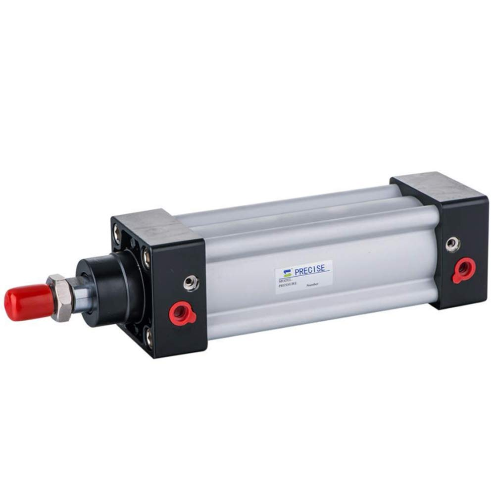 Air Cylinder 80mm Bore 200mm Stroke 3/8'' NPT ISO15552 Double Acting