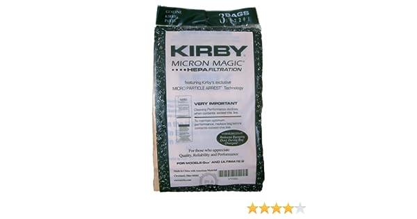 Original Kirby bolsas **Filtro Hepa** Fabricación Serie G6 / G7 Ultimate