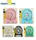 Powerpak Mini Portable Usb Rechargeable Fan