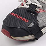 Motorcycle Motorbike Shift Pad Shoe Boot Cover Protective Gear